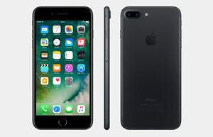 iphone 7 Plus unlocked 128GB Excellent condition w/ leather case