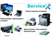 COMPUTERS/NETWORKS/PRINTERS - REPAIRS