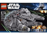 Lego star wars millenium falcon and other lego star wars toys