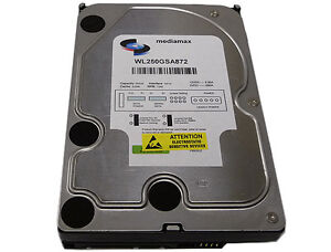 New 250GB 8MB Cache 7200RPM SATA2 Hard Drive -FREE SHIP