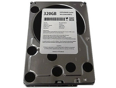 "New 320GB 8MB 7200RPM SATA 3.0GB/s 3.5"" Desktop Hard Drive -FREE SHIPPING on Rummage"