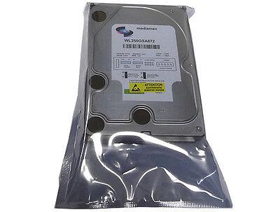 250gb 7200rpm 8mb Cache Sata2 3.5 Desktop Hard Drive (free Shipping)