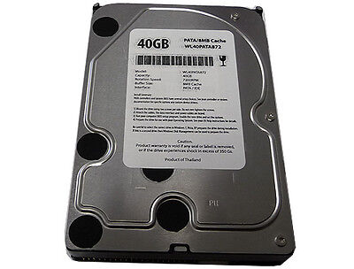 40gb 7200rpm 8mb Cache 3.5 (ata/100) Pata Ide Hard Drive -free Shipping