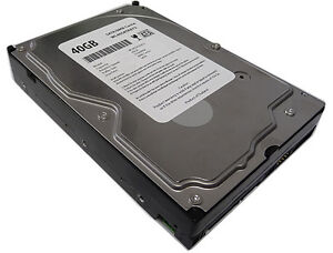 New 40GB 7200RPM 8MB Cache SATA 3.5