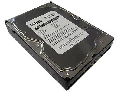 160gb 2mb 7200rpm Ide Pata Ultra Ata/100 3.5 Hard Drive W/1 Year Warranty
