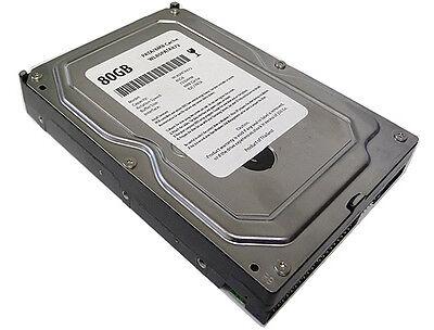 80gb 7200rpm 8mb Cache Pata Ide Ata/100 3.5 Desktop Hard Drive - Free Shipping