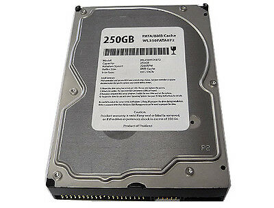 250gb 8mb Cache 7200rpm Ultra Ata/100 Ide Pata 3.5 Desktop Hard Drive