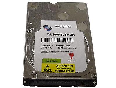 New 1TB (1000GB) 8MB Cache 5400RPM SATA2 Laptop Hard Drive PS3 OK -FREE SHIPPING
