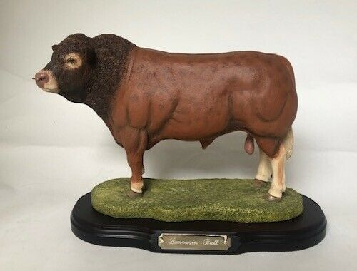 Limousin Bull - Limited Edition - Best of Breed by Naturecraft - NEW in Box