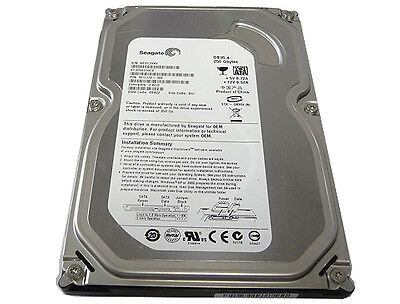 "Seagate ST3250310CS 250GB 7200RPM 8MB Cache SATA 3.5"" Desktop Hard Drive"