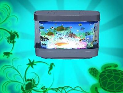Lightahead Artificial Tropical Fish Aquarium Decorative Lamp Virtual Ocean in A 6