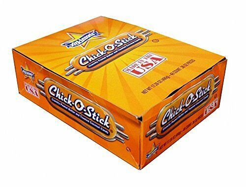 Chick-O-Stick Peanut Butter Coconut Candy 48 count 0.36oz