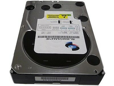 "New 2TB 64MB Cache 7200RPM Enterprise SATA 6Gb/s 3.5"" Hard Drive - FREE SHIPPING"