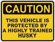 Funny Car Warning Stickers