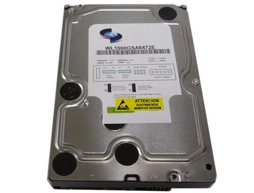 "WL 1TB 7200RPM 64MB Cache (Enterprise Grade) SATA 6Gb/s 3.5"" Internal Hard Drive"