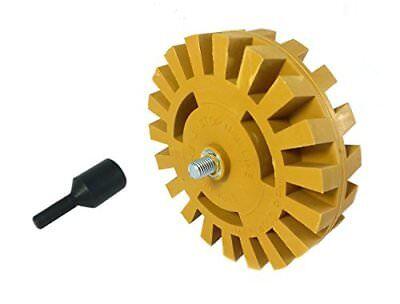 Pinstripe Removal Kit - Car Decal Removal Tool Kit Auto Repair Bumper Sticker Pinstripe Eraser Wheel New