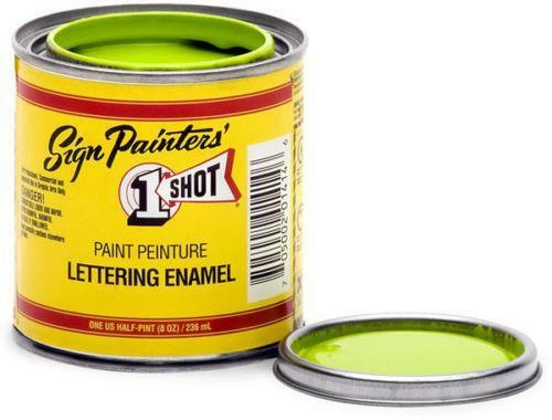 one shot lettering enamel one paint ebay 14017 | $ 3