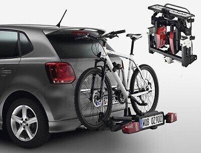Original VW Portabicicletas Para AHK ,Plegable,Plegable,2 Bicicletas 3C0071105B