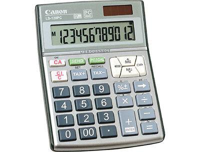 New CANON LS-120PC PC Hand Held Tax Calculator / Keypad 12 Digit USB