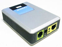 UNLOCKED Linksys SPA1001 FXS VoIP Phone Adapter 1port (Excellent