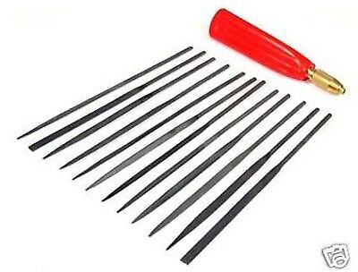 13 PIECE JEWELERS FILE SET FILES NEEDLE TOOLS JEWELRY