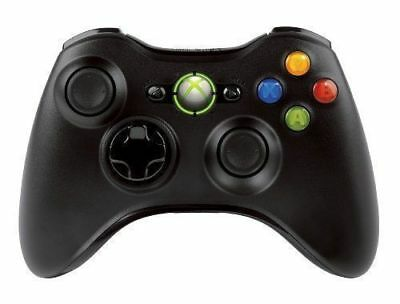 Купить Microsoft Xbox 360 - Genuine Wireless Game Controller For Microsoft Xbox 360 Gamepad Black US Stock