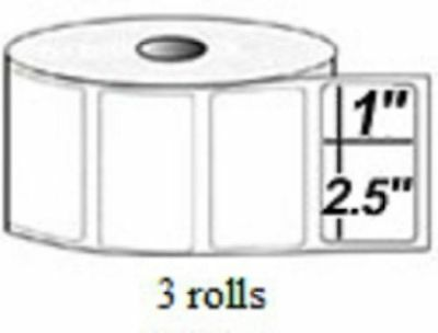 2.5x1 Direct Thermal Labels Pos 2824 2844 Zp 450 12 Rolls 4125 Quick Books