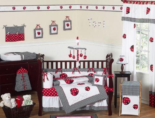 Ladybug Bedding Ebay