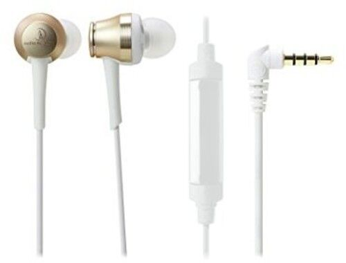 Audio-Technica AUD ATHCKR70ISCG ATH-CKR70iSCG In-Ear Headphones Champagne gold