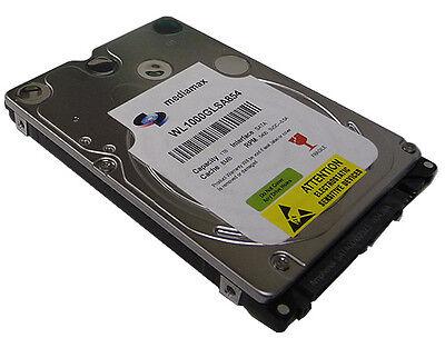 """New 1TB (1000GB) 8MB Cache 5400RPM SATA 2.5"""" 9.5mm Notebook Hard Drive (PS3 OK)"""