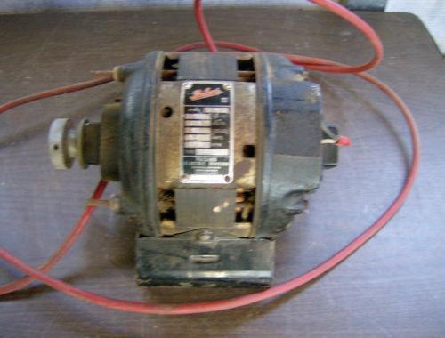 Vintage electric motor ebay for Antique electric motor repair