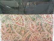 Ralph Lauren Paisley Sheets