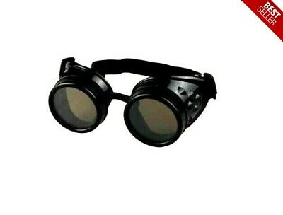 New Welders Goggles Glasses Lens Vintage Steampunk Industrial Welder Welding