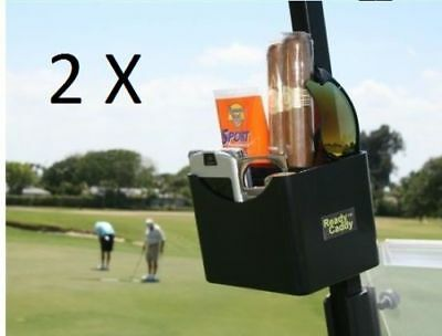 2x Ready Caddy Golf Cart Accessory Organizer Accessories Caddie Holder Gift Idea - Golf Cart Ideas