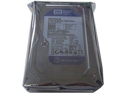 Western Digital 250 Gb Caviar Blue Sata 3 Gbs 7200 Rpm 8 Mb Cache Bulkoem Desktop Hard Drive - Wd2500aajs 3