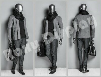 Male Fiberglass Egghead Mannequin Dress From Display Mz-ds002