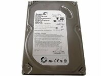 seagate hard drive 500gb plus a western 320gb