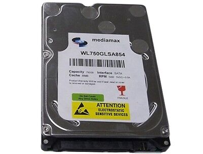 5400rpm 8mb Notebook Hard Drive - New 750GB 5400RPM 8MB Cache SATA 3.0Gb/s 2.5