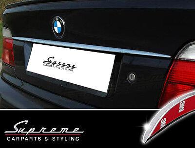 BMW 5er E39 und Touring Chrom Zierleiste 3M Tuning Heckleiste Typ 2
