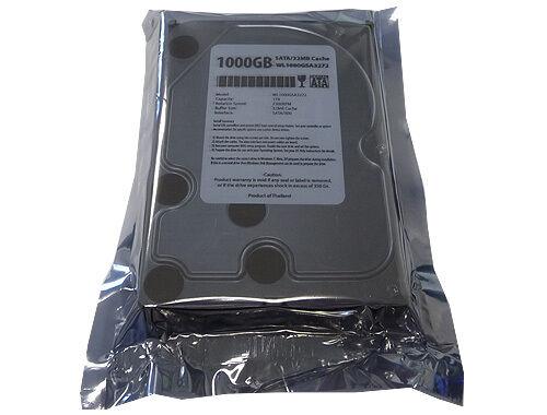 """WL 1TB (1000GB) 32MB Cache 7200RPM SATA 3.5"""" Desktop Hard Drive -PC/Mac/NAS/DVR"""
