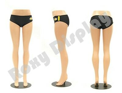 Plastic Unbreakable Female Mannequin Legs Brazilian Hips Roxy Display Ps-lg101