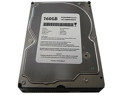 New 160GB 2MB Cache 7200RPM Ultra ATA/100 PATA IDE 3.5