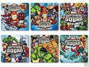 Marvel Heroes Stickers