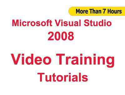 Microsoft Visual Studio 2008 Video Training Tutorials CBT - 7+ Hours ()