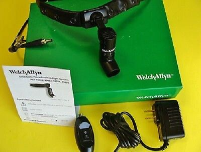 Solid State Procedure Headlight With Direct Power Source 49020 Welch Allyn