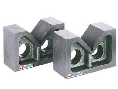 Spannblock 1 Paar V-Spannblöcke 100x45x67 mm V-90°