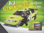 AJ Allmendinger NASCAR Postcards