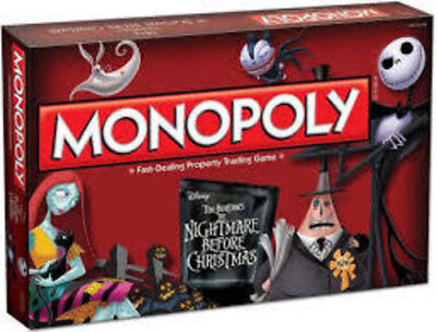Monopoly: Tim Burton's Nightmare Before Christmas Board Game