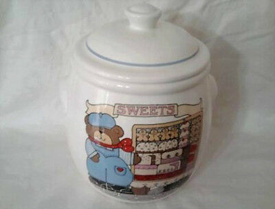 """""""SWEETS"""" Cookie Jar - Painted by Susan Marie McChesney"""