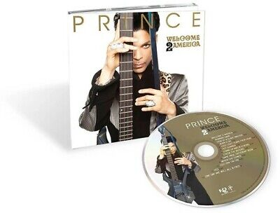 Prince ***Welcome 2 America **BRAND NEW FACTORY SEALED CD